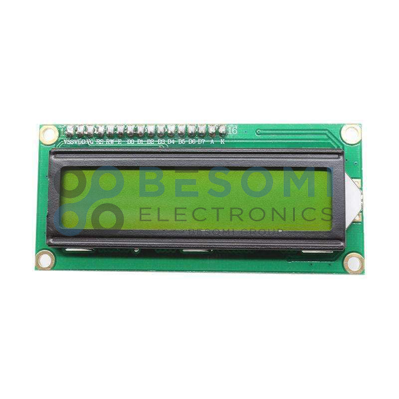 LCD Display 16X2 Green Backlight for Arduino