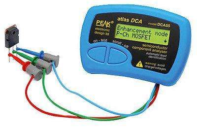 DCA55 -  Component Analyzer, Semiconductor Devices, Atlas DCA