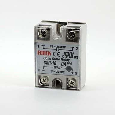 SSR-10DA Solid State Relay Single-phase
