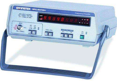 GFC-8010H 8 Digits LED Digital Display Frequency Counter, 10Hz to 120MHz Sensitivity Range
