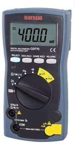 CD770 Digital Multimeters  Standard type - BESOMI ELECTRONICS