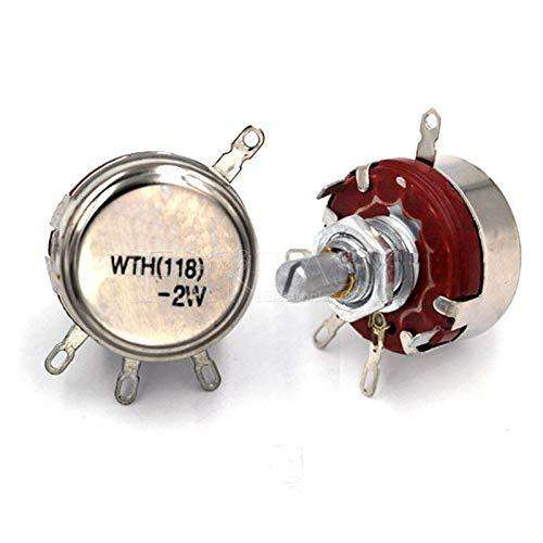WTH118-1A 2W 100k Ohm Rotary Taper Carbon Potentiometer