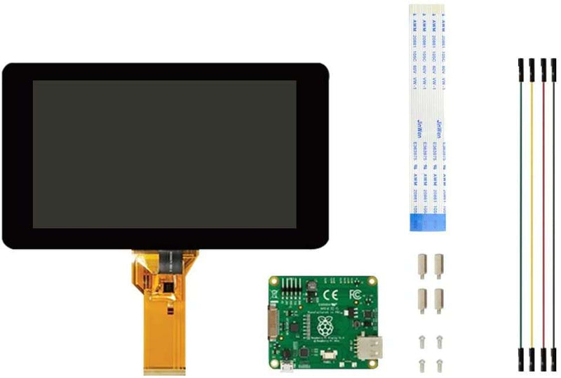 RASPBERRY PI 7 INCH LCD DISPLAY