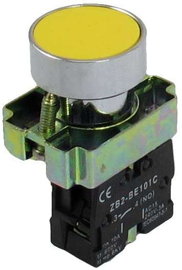 ZB2-BE101C : 22mm 1 NO N/O Momentary Push Button Switch 600V 10A - BESOMI ELECTRONICS