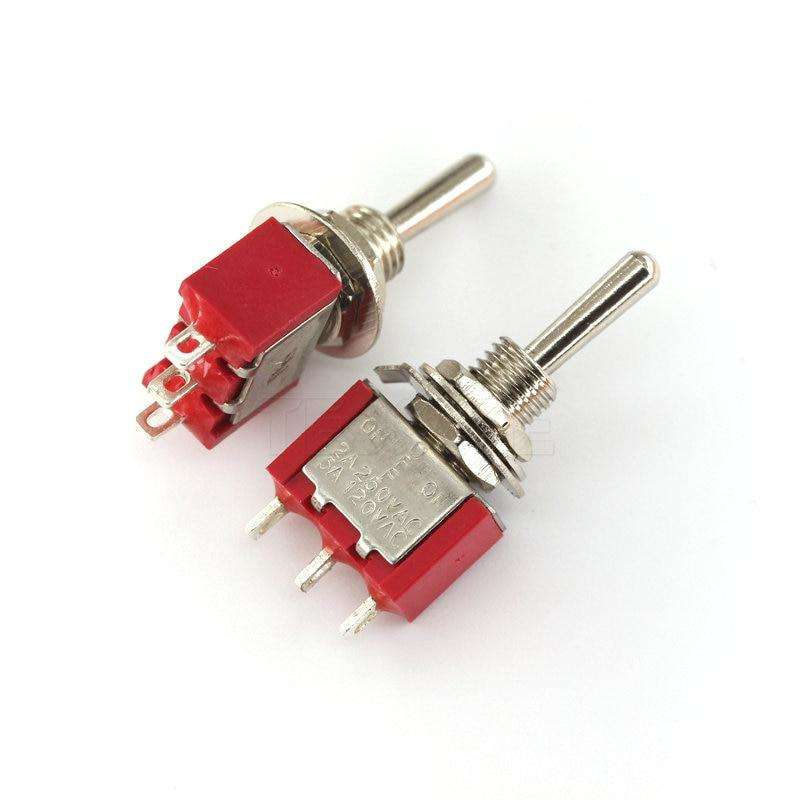 MTS ON-OFF-ON 9P - Toggle Switch