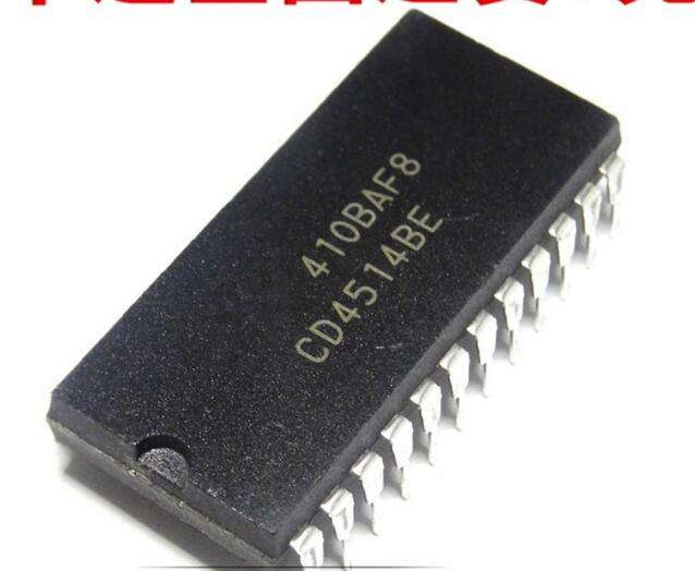 CD4514BE   IC LATCH/LINE DECODR 4-16 24-DIP