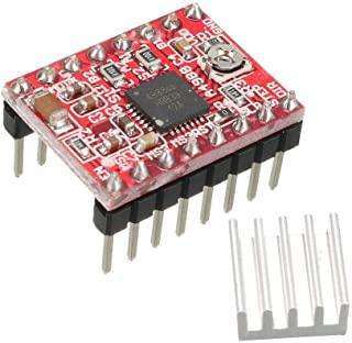 A4988ET MODULE A4988 Stepstick Stepper Motor Driver Module with Heat Sink for 3D Printer Reprap, CNC Machine or Robotics
