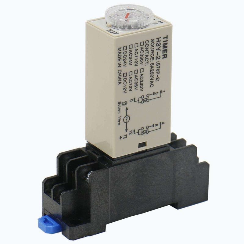 H3Y-4 AC 110V 220V 60s 0-60 second delay timer