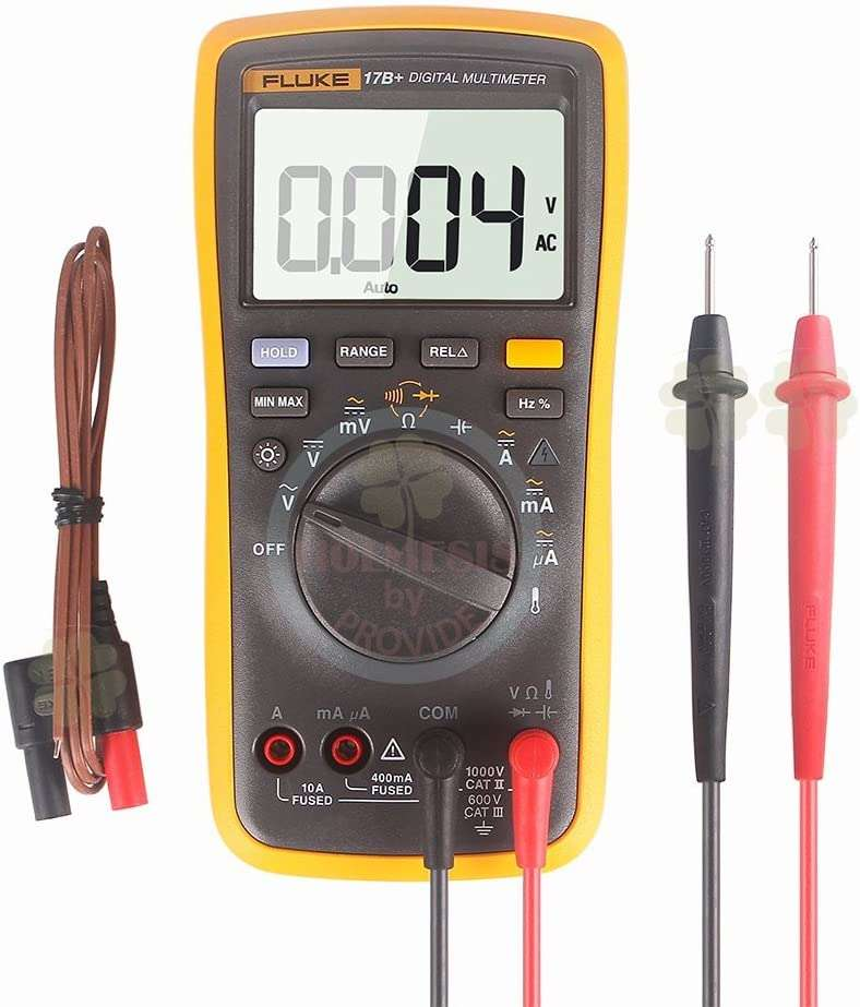 FLUKE 17B+ Digital Multimeter w/ Temperature & Frequency (Without Case) - BESOMI ELECTRONICS