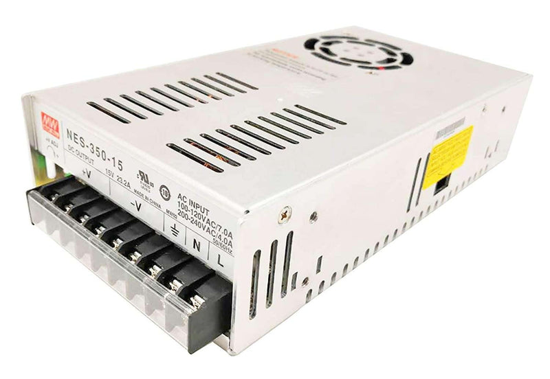 (NES-350-15) 15V 23.2A  Power Supply - BESOMI ELECTRONICS