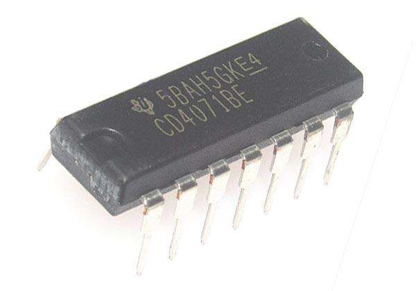 CD4071BD CMOS OR GATES - BESOMI ELECTRONICS