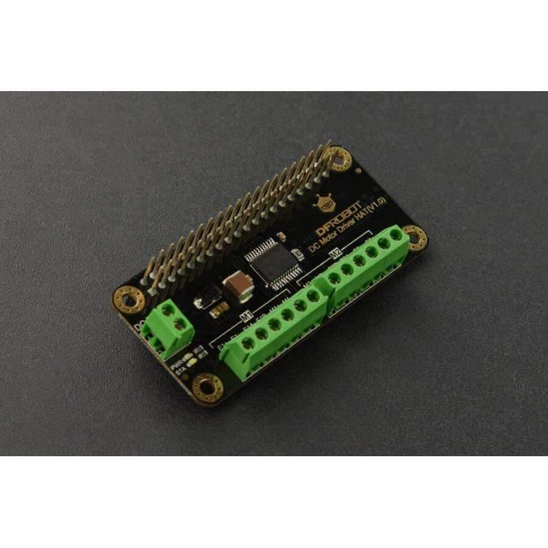 DC Motor Driver HAT(V1.0) for Raspberry Pi - BESOMI ELECTRONICS