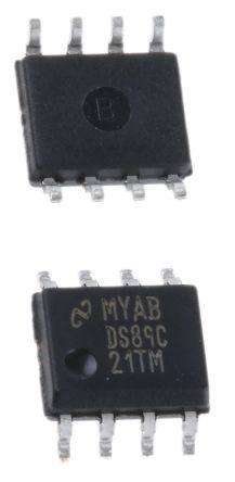DS89C21TM  RS-422 Interface IC DIFF CMOS LINE DRVR AND RECEIVER PAIR