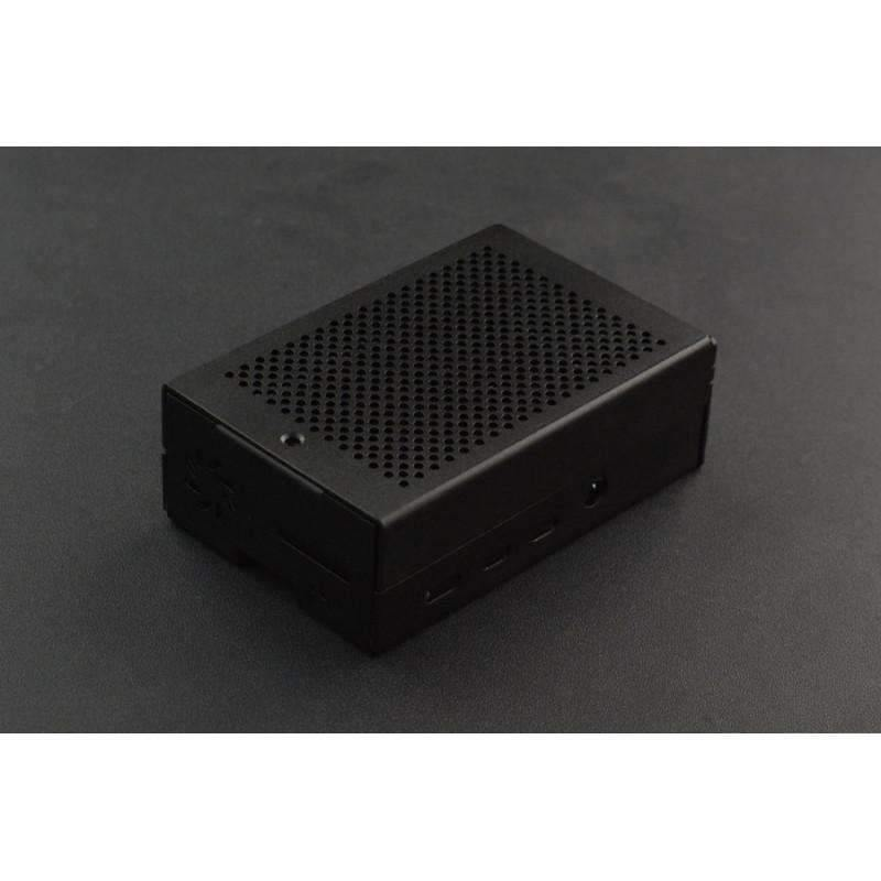 Aluminum Case for Raspberry Pi 4 (with Heatsink & Fan) - BESOMI ELECTRONICS