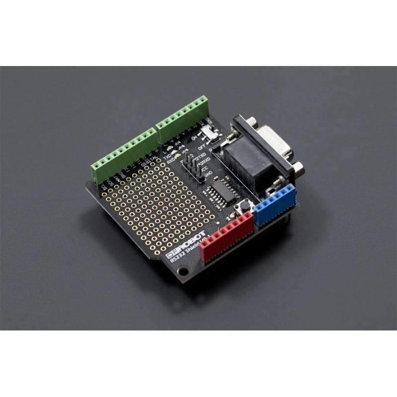 RS232 Shield for Arduino - BESOMI ELECTRONICS