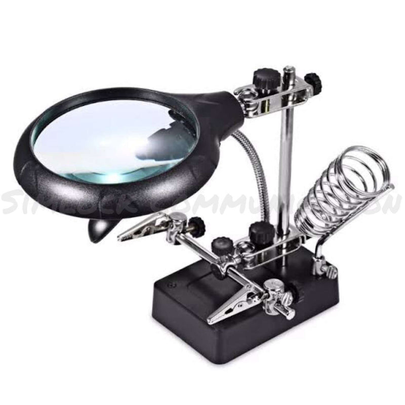 TE-800 MAGNIFIER WITH AUXILIARY CLIP - BESOMI ELECTRONICS