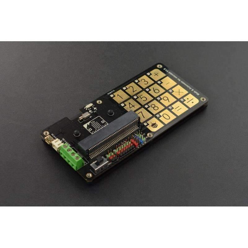 Math & Automatic Touch Keyboard for micro:bit (V1.0) - BESOMI ELECTRONICS