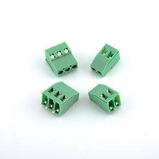 MF-129-5.08-3P : 300V 25A Screw 3Pin 5.08mm Straight Pin PCB Screw Terminal Block Connector 24-12AWG