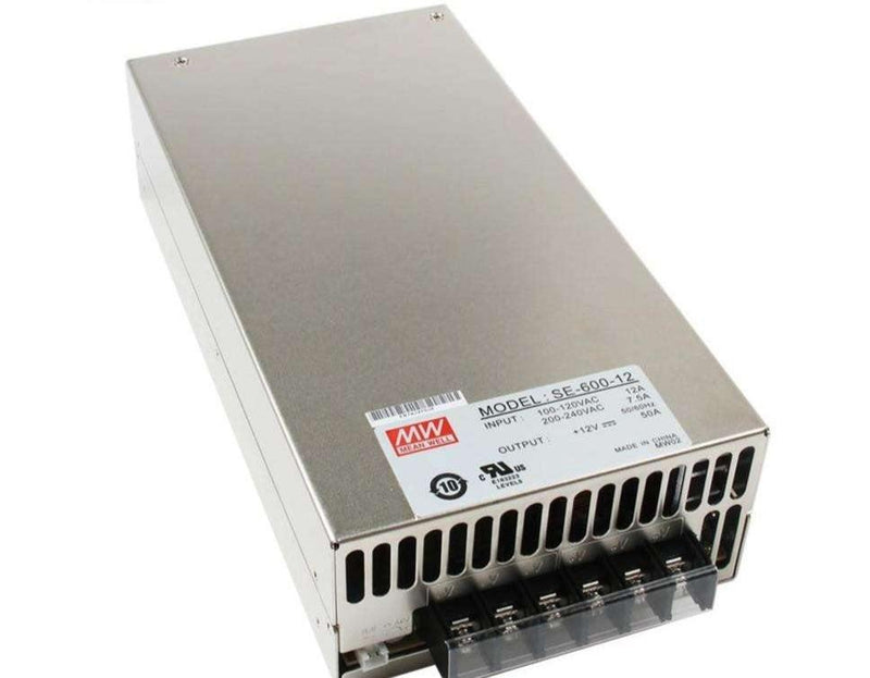 (SE-600-12) 12V 50A  - Power Supply - BESOMI ELECTRONICS