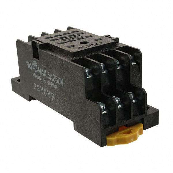 PYF14A RELAY SOCKET 14 POS DIN RAIL