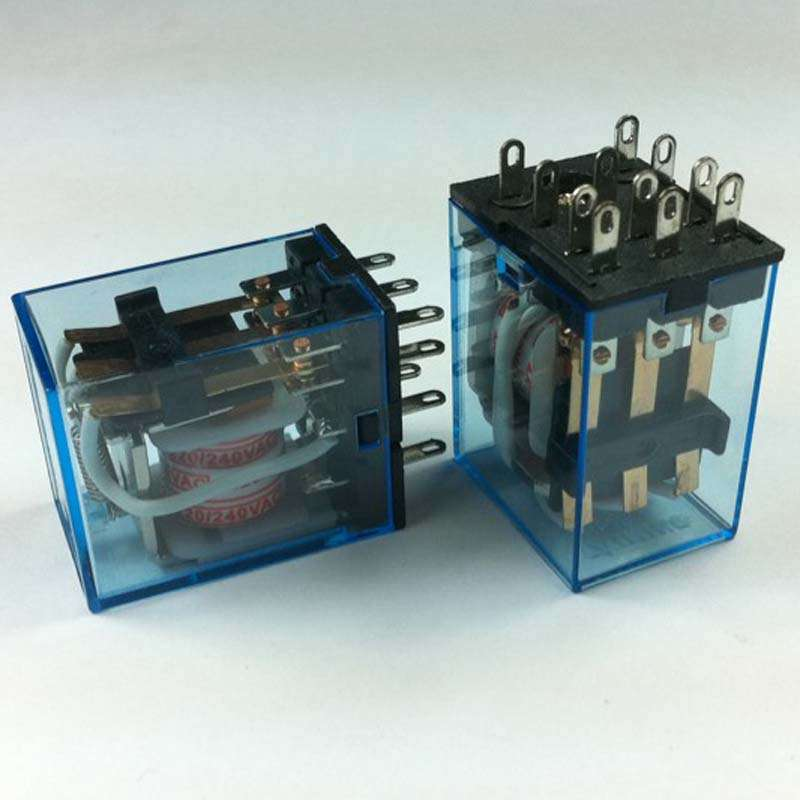 MY3NJ 12VAC : COIL VOLTAGE 12VAC INPUT 220/AC/DC 11 PINS GENERAL PURPOSE RELAY