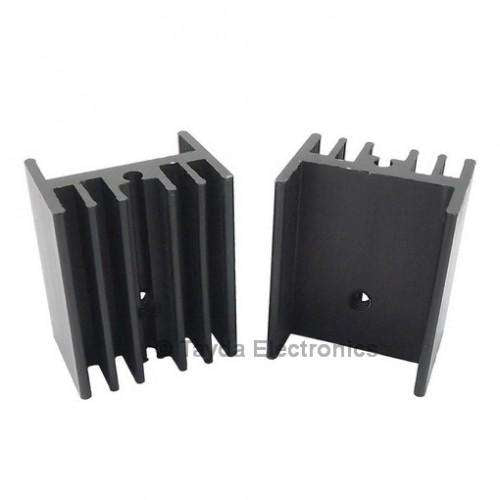 HEAT SINK TO-247 BLACK