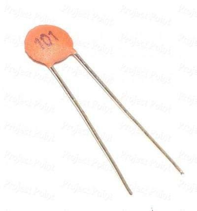 0.0001UF (0.1NF) 100V Ceramic Disc Capacitor - BESOMI ELECTRONICS