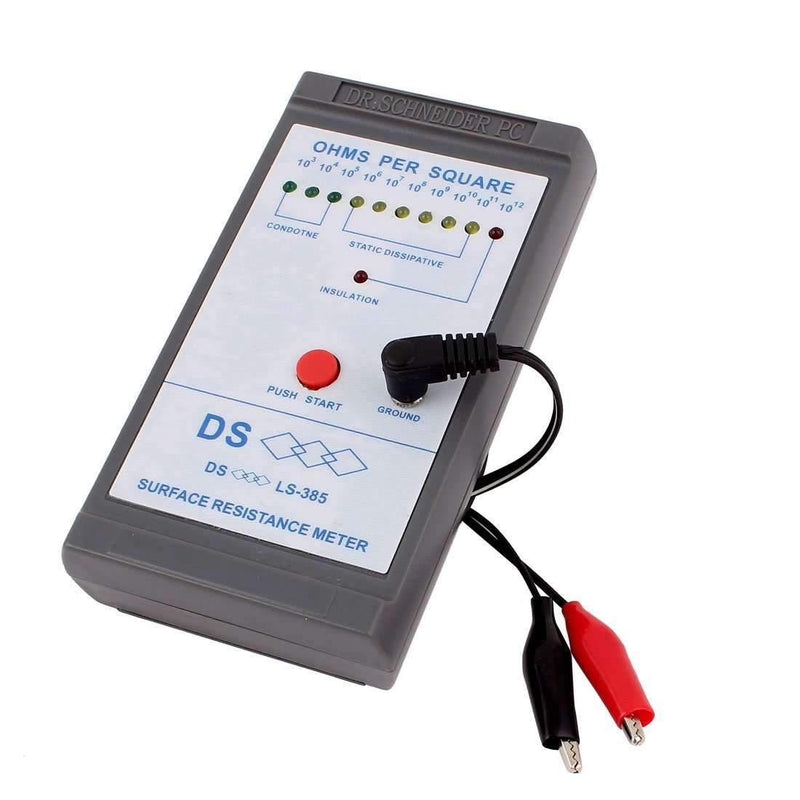 LS-385 Surface Resistance Resistivity Electrostatic Static Electricity Tester Meter - BESOMI ELECTRONICS