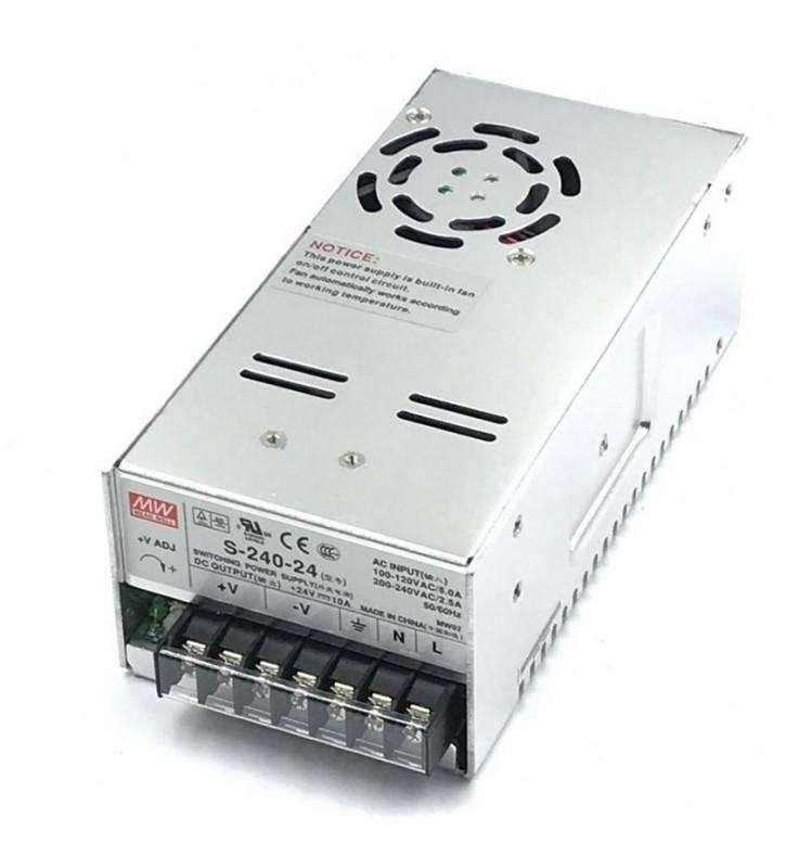 (S-240-24) 24V 10A : Switching Power Supplies 240W - BESOMI ELECTRONICS