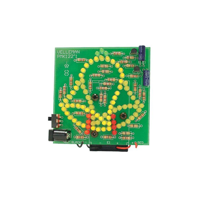 Velleman MK122 83 LED Animated Bell Minikit - BESOMI ELECTRONICS