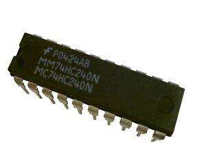 MM74HC240N 	IC BUFFER