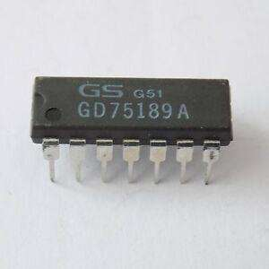 GD75189A QUADRUPLE LINE RECEIVERS