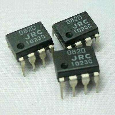 JRC082D DUAL J-FET INPUT OPERATIONAL AMPLIFIER