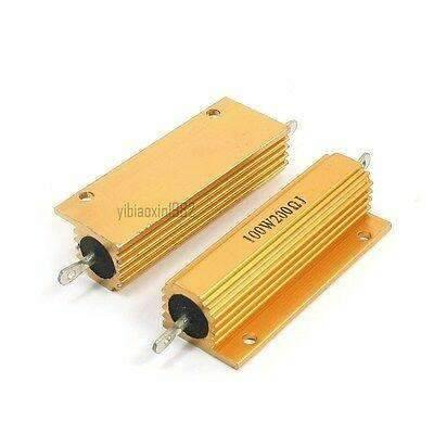 200 OHM 100W Wirewound Resistors - Chassis Mount - BESOMI ELECTRONICS