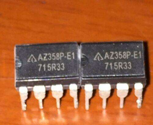 AZ358P-A LOW POWER DUAL OPERATIONAL AMPLIFIERS