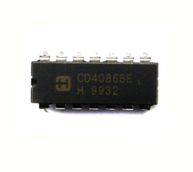CD4086BE  IC 2-IN AND-OR-INV GATE 14-DIP
