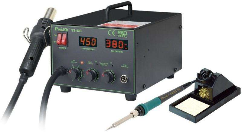 SS-989 : PRO'S KIT 2 In 1 SMD Hot Air Rework Station
