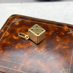 18ct Gold Vintage Dice Charm