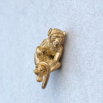 Solid 22ct Gold Monkey Pendant