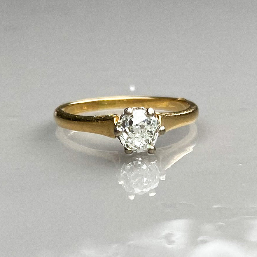 0.50ct Diamond Solitaire Ring