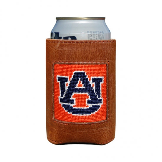 SMATHERS & BRANSON ORANGE AUBURN CAN COOLER