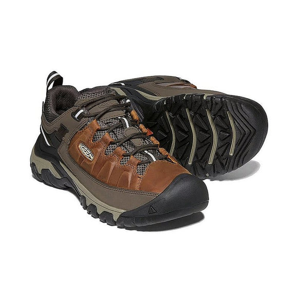MENS KEEN TARGHEE 3 WP-CHESTNUT/MULCH