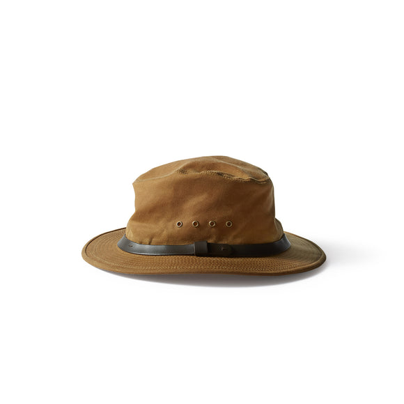 FILSON TIN PACKER HAT - DARK TAN