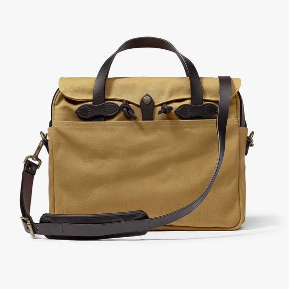 FILSON RUGGED TWILL ORIGINAL BRIEFCASE - TAN