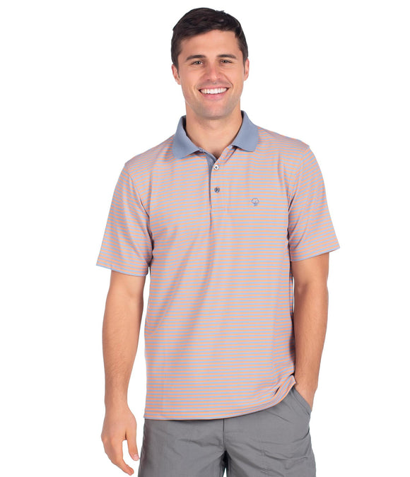 SOUTHERN SHIRT KING STREET PIQUE PERFORMANCE POLO