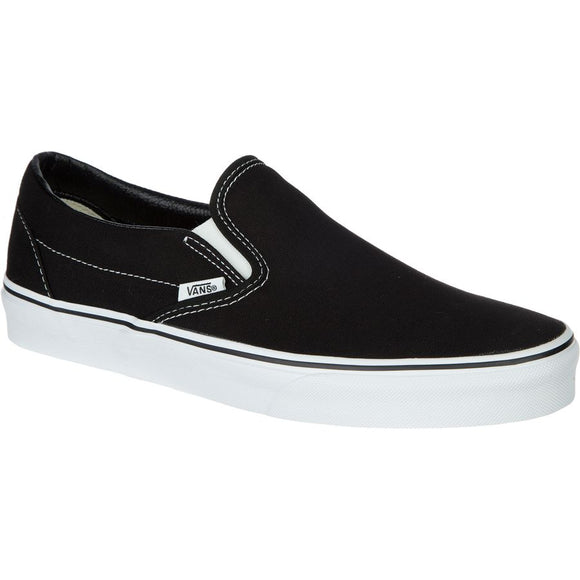 VANS AUTHENTIC SLIP ON - BLACK/WHITE