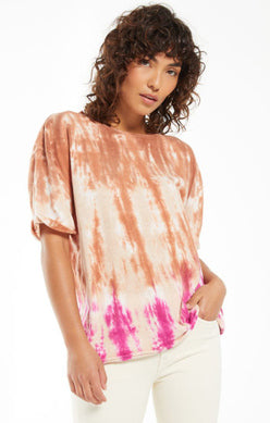 Z SUPPLY - JUNE SORBET SKIES TIE-DYE TEE