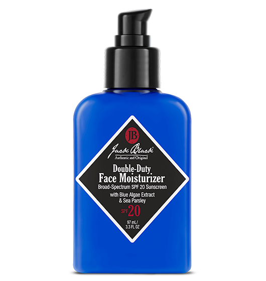 JACK BLACK DOUBLE-DUTY FACE MOISTURIZER, 3.3 OZ