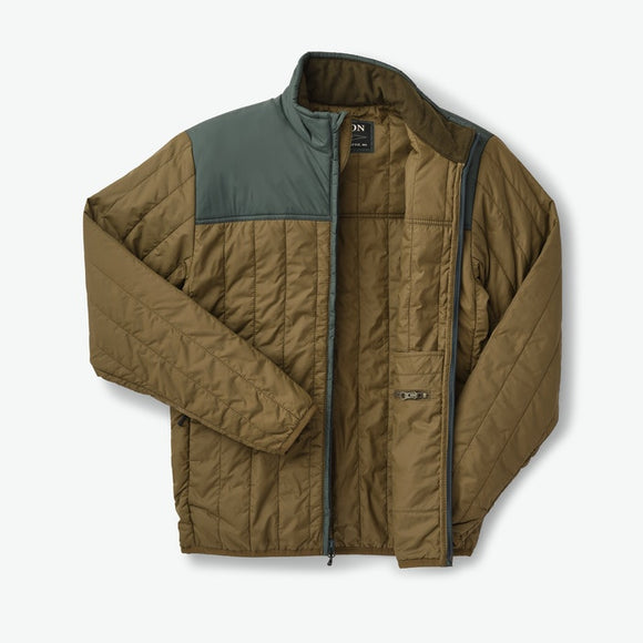 FILSON ULTRALIGHT JACKET - OLIVE/SPRUCE