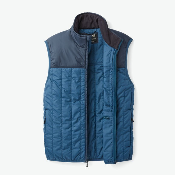 FILSON ULTRALIGHT VEST - BLUE WING TEAL/ CAPTAIN'S BLUE